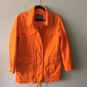 NW SUPERDRY bright orange Japanese utility coat